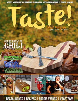 Taste! WV Magazine - Fall 2014