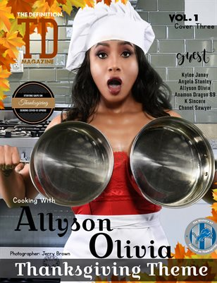 The Definition: Allyson Olivia /K Sincere Thanksgiving vol.1 cover 3