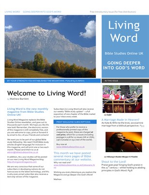 Living Word Magazine