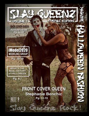Slay Queenz Magazine Halloween Fashion Vol.1