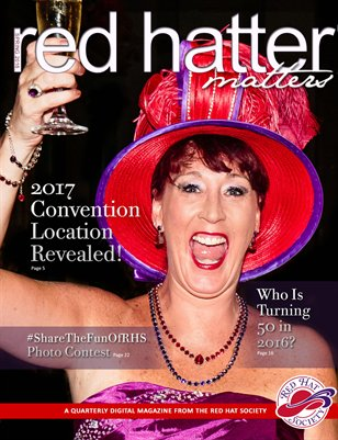 Red Hatter Matters, Spring 2016