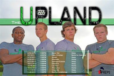 "Upland Schedule ""The U"""