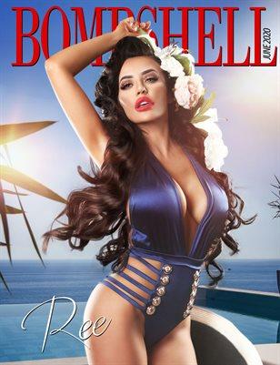 BOMBSHELL Magazine June 2020 - Ree Cover