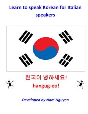 Learn to Speak Korean for Italian Speakers