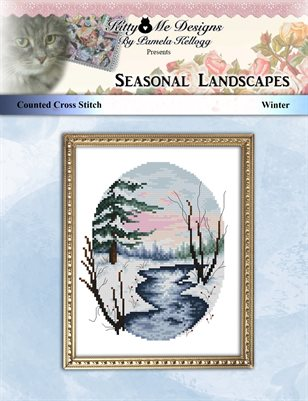 Cross Stitch Seasonal Landscapes Winter