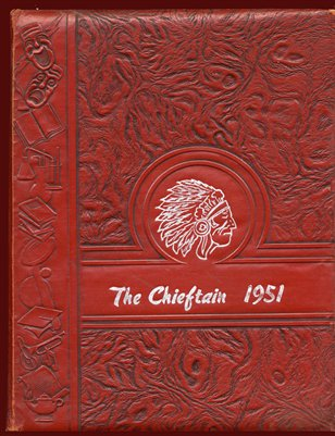 "1951 ""The Chieftain"" Bardwell, Carlisle County, Kentucky Yearbook"