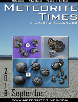 Meteorite Times Magazine - September 2018 Issue