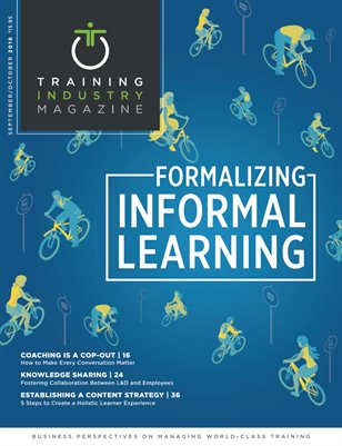 September/October 2019 | Formalizing Informal Learning