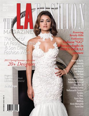 The LA Fashion magazine November 2012  issue