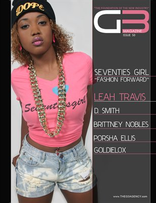 G3 Magazine Issue 50 (Leah Travis)