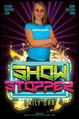 Emily Ohr Neon Poster