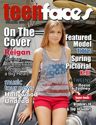 Teen Faces Summer 2015