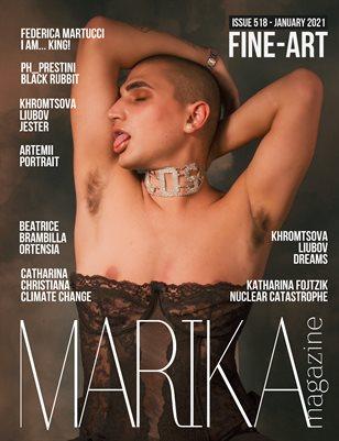 MARIKA MAGAZINE FINE-ART (ISSUE 518 - January)