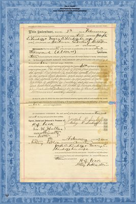 No. 6240 1893 Quit-Claim Deed Joseph C. Linhoff and wife to Barbara Conter, Scott County, Minnesota
