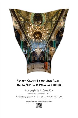 Sacred Spaces Large and Small Exhibit Poster