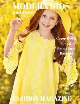 Modern Kids & Teens Fashion Magazine,Issue #9 April