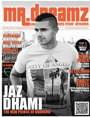 MR DREAMZ MAGAZINE JAZ DHAMI