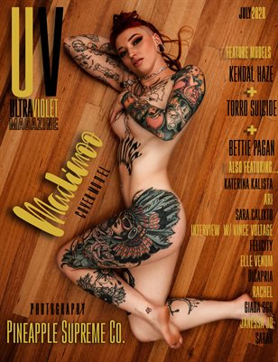 ULTRAVIOLET Magazine: July 2020 Cover Three