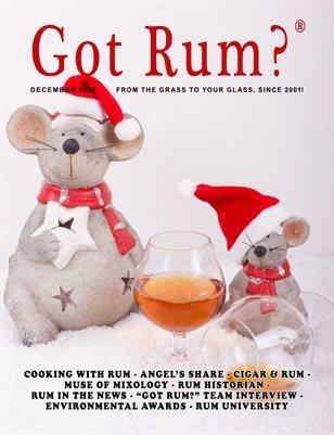 """""""Got Rum?"""" December 2018"""