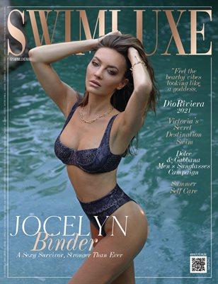 SWIMLUXE Magazine - JOCELYN BINDER - April/2021 - PLPG GLOBAL MEDIA