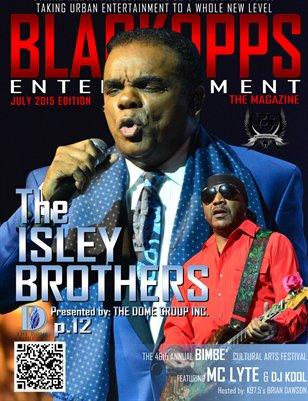 July 2015 Edition of BLACKOPPS ENTERTAINMENT - The magazine