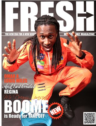 "BOOME MR DREAMZ MAGAZINE ""FRESH"""