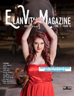 Elan Vital Magazine May 2018 Chloe Cover