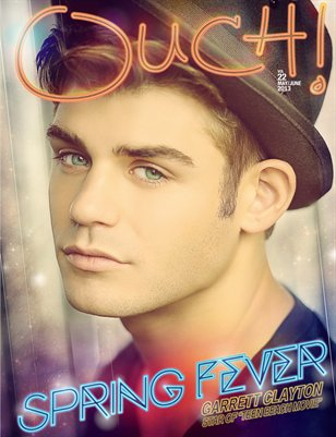 Vol .21  Spring Fever Issue/Actor Garret Clayton