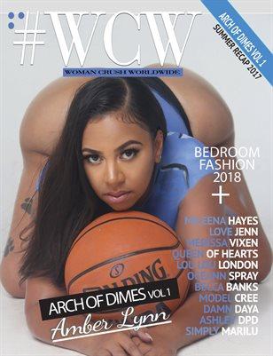 """WCW Magazine """"Arch of Dimes"""" Amber Lynn"""