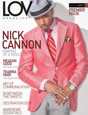 LOV Magazine featuring Nick Cannon
