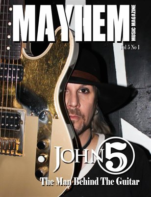 Mayhem Music Magazine Vol. 5 No. 1