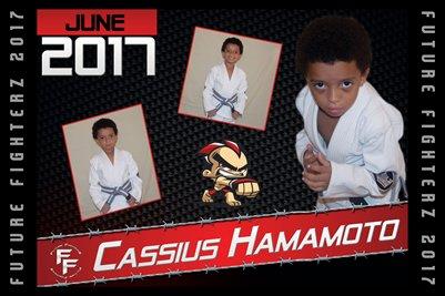 Cassius Hamamoto Cal Poster 2017