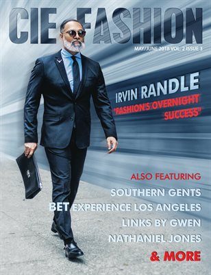CIE Fashion Magazine Feat. Irvin Randle