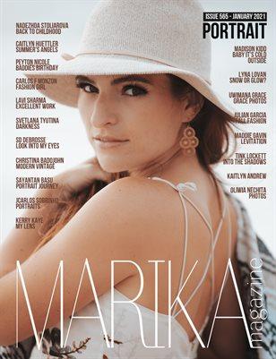 MARIKA MAGAZINE PORTRAIT (ISSUE 565 - January)