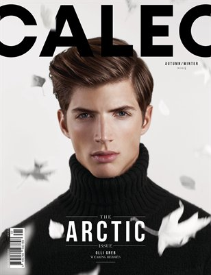 CALEO MAGAZINE The Arctic Issue feat. Olli Greb