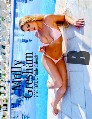 Molly Gresham 2020 Nude BADD Calendar