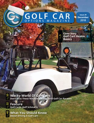 Golf Car Options Magazine - December 2018