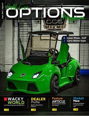 Golf Car Options Magazine - September 2021