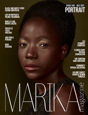 MARIKA MAGAZINE PORTRAIT (ISSUE 1145 - JULY)