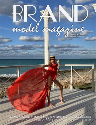 Brand Model Magazine  Issue # 320, Red/Pink Vol. 3