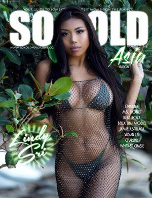 SO KOLD MAGAZINE - ASIA (COVER MODEL: LINDY SRI)