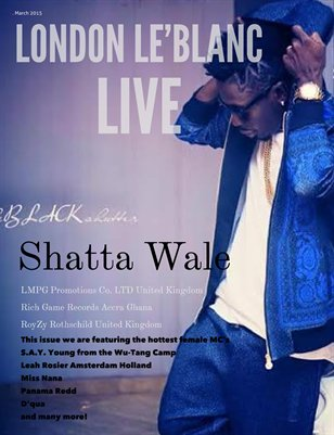 London Le'Blanc Live Volume 3