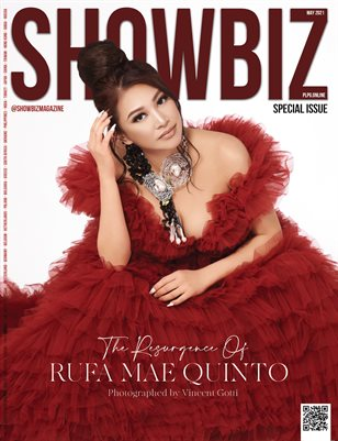 SHOWBIZ Mag SPECIAL ISSUE - RUFA MAE QUINTO - May/2021 - Issue 29 - PLPG GLOBAL MEDIA