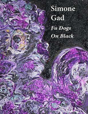 Simone Gad: Fu Dogs on Black