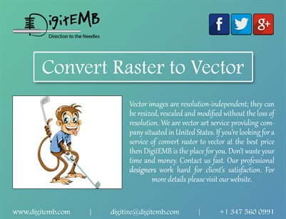 Convert Raster to Vector