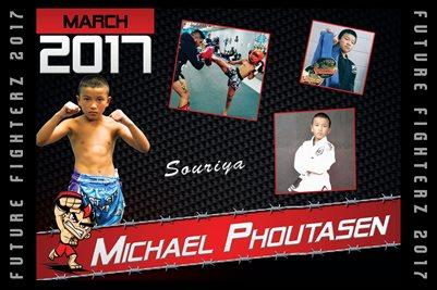 Michael Phoutasen Cal Poster 2017
