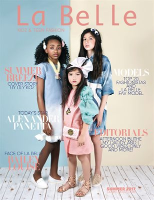 La Belle Kidz - Summer 17 (Double Cover 01)