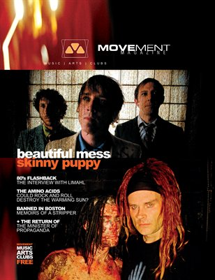 10.2005 Beautiful Mess, Skinny Puppy, Amino Acids