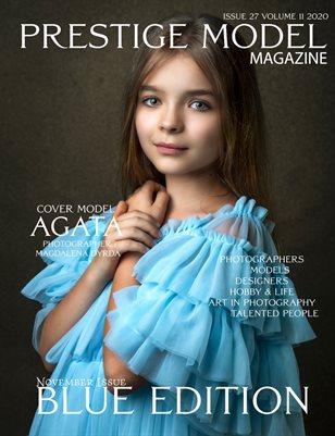 PRESTIGE MODELS MAGAZINE_Blue Edition 27/11