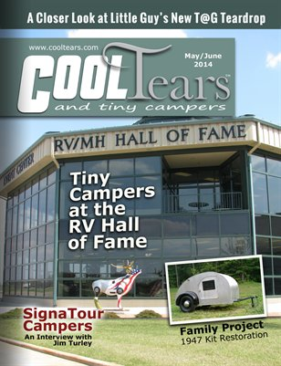 Cool Tears and Tiny Campers Magazine - May/June 2014